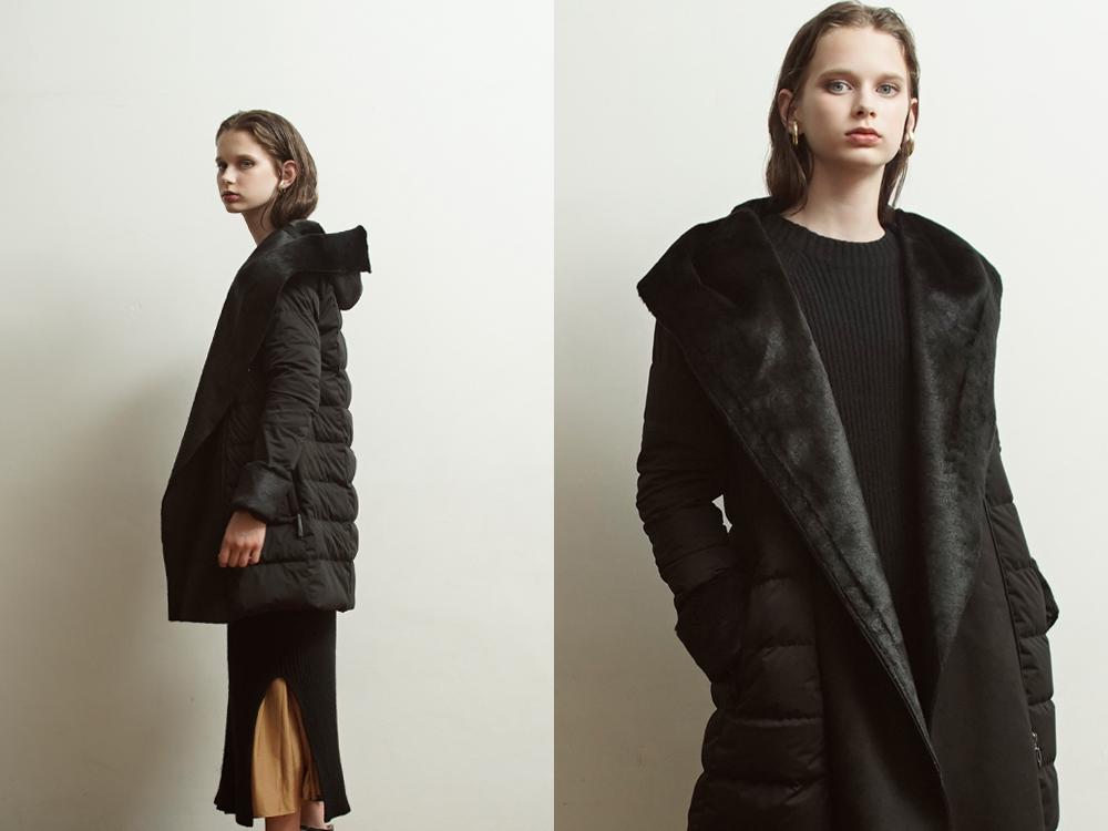 YO912004 Fake Mouton Coat