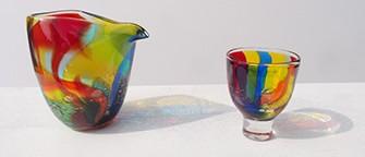 鮮やかな色ガラスの世界-ガラス工房Merhaba(メルハバ)