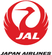 JALのロゴ JAPAN AIRLINES