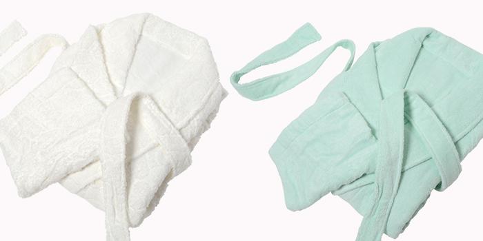 絹綿美人のバスローブイメージ