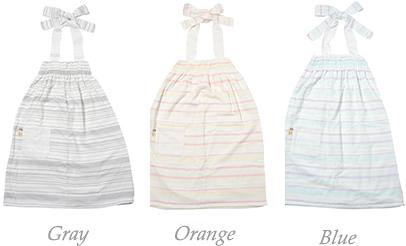 絹綿美人のガーゼバスドレスカラーイメージ