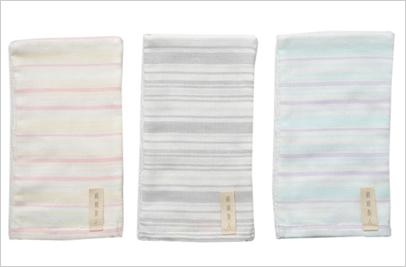 絹綿美人のガーゼバスミトンイメージ