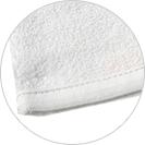 絹綿美人のガーゼバスミトン裏パイルイメージ