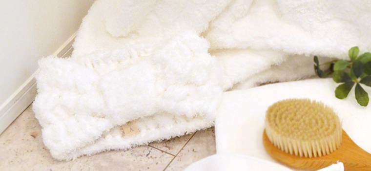 絹綿美人の極柔タオル仕様のターバンイメージ