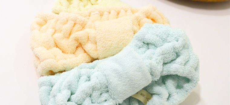 絹綿美人のホテルタオル仕様のターバンイメージ