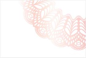 メッセージカード/ピンク