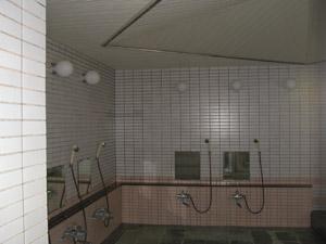 ゴルフクラブ浴室