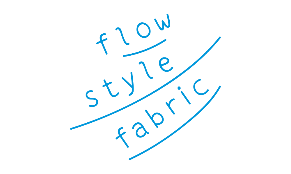 flow style fabricのロゴ