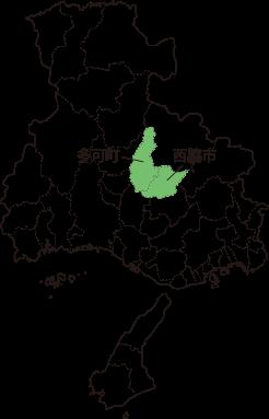 播州地方の地図