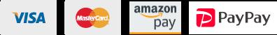 VISA MasterCard amazonPay PayPay