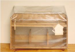 絵本棚の梱包手順2