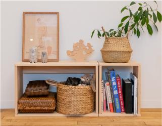 ひのきの家具シリーズ オープンボックス