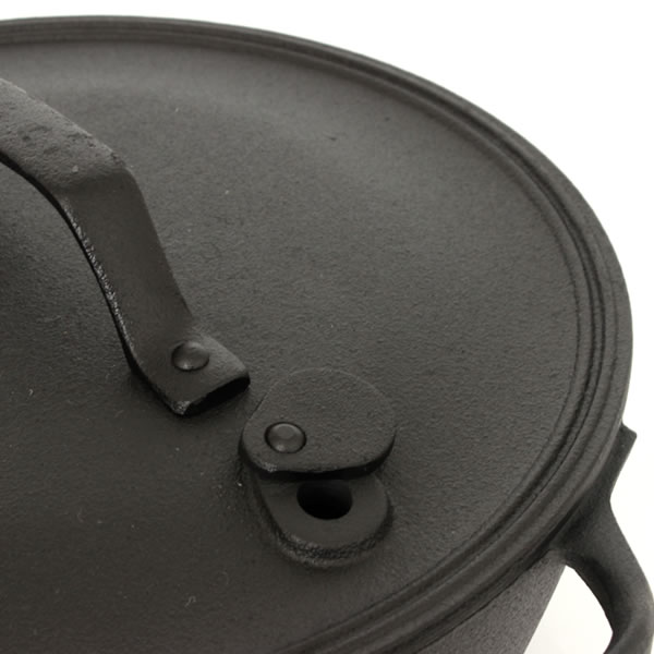 OIGEN 厚手の鋳物鍋 クックトップ