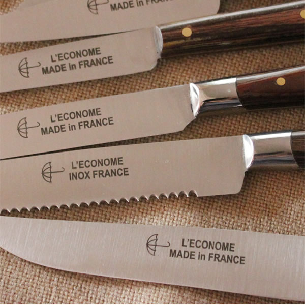L'ECONOME レコノム ステーキナイフ