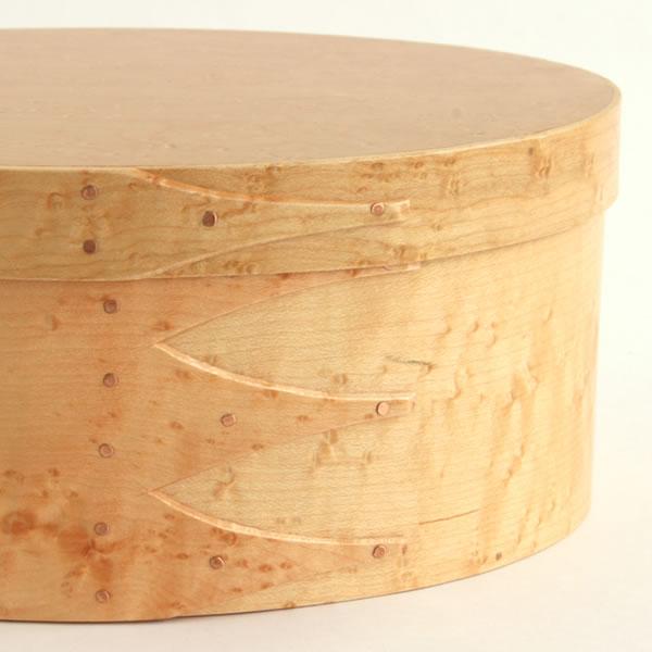 Oval Shaker Box バードアイメープル