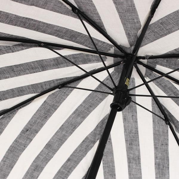 SUR MER 日傘 ストライプ 折り畳み