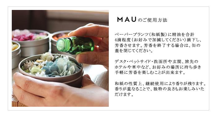 MAU Un cercle de base ペーパープランツアロマディフューザー