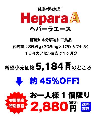 初回限定 特別価格 2,880円