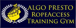 アルゴプレスト ロープアクセス トレーニングジム ロープ高所作業特別教育
