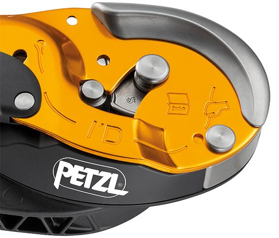 ペツル アイディS PETZL IDs ID's  セルフブレーキ  パニック防止機能 オートロック 下降器 ディッセンダー レスキュー対応