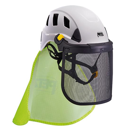 ペツル ヘルメット ストラト ネック プロテクター 首 保護