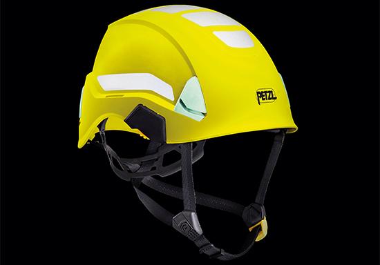 ペツル ヘルメット ストラト ハイヴィズ ハイビズ 蛍光 保護帽 規格 飛来 落下物墜落時保護