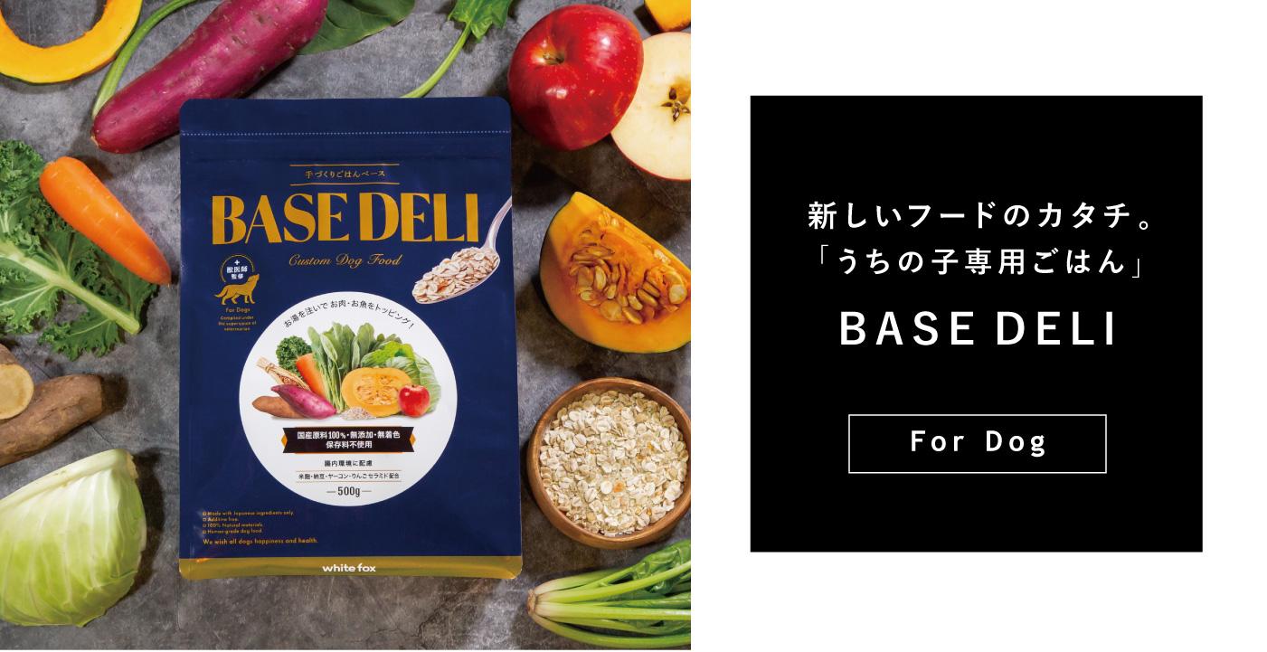 3.12 Debut 新しいフードのカタチ。「うちの子専用ごはん」BASE DELI