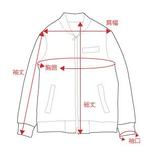 ジャケットの採寸場所