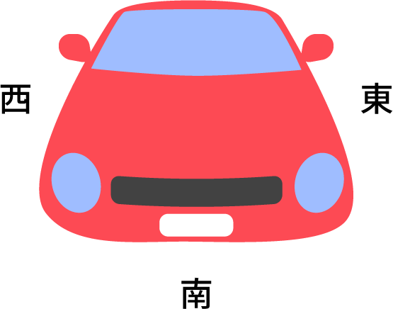 車の置き場所