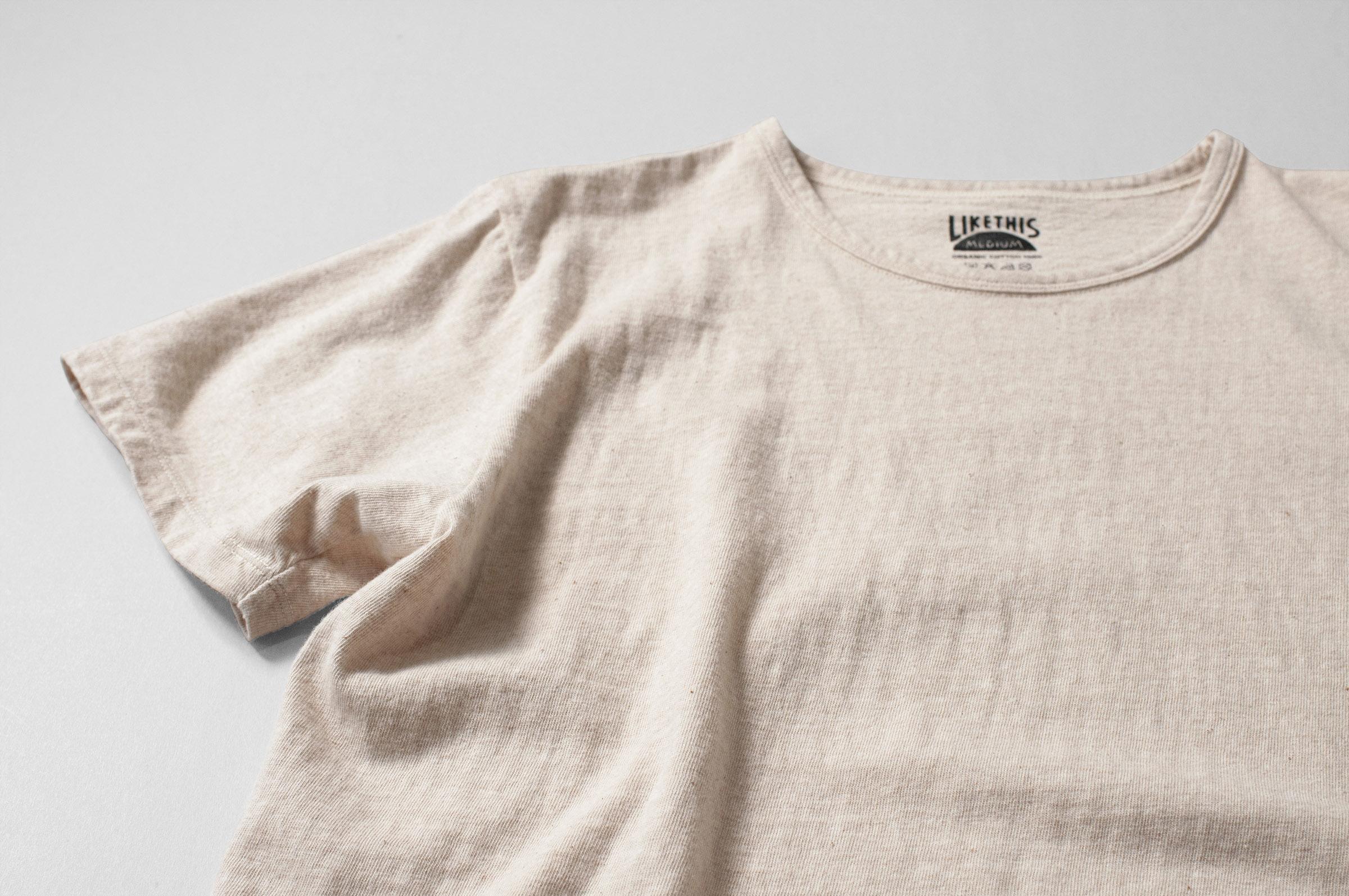 オーガニックコットン ポケットTシャツ