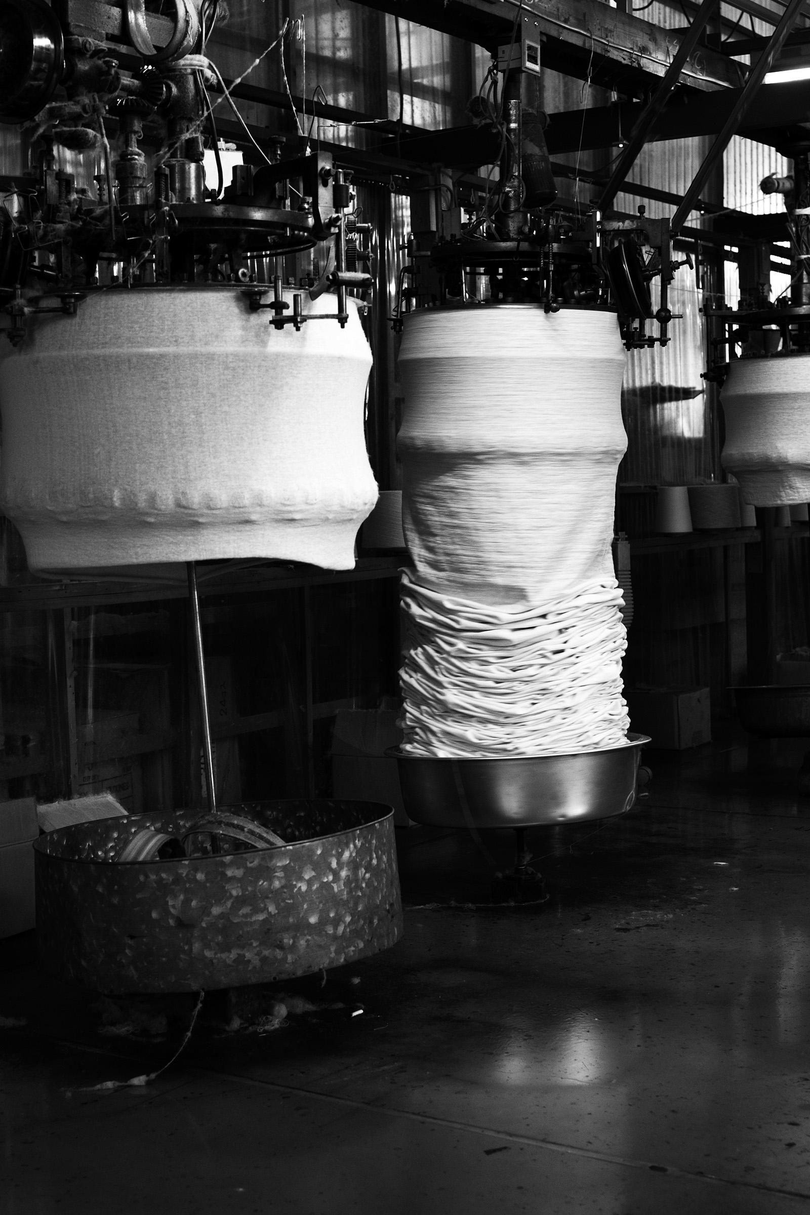 吊り編み機