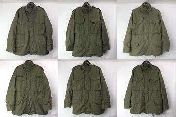 古着M-65フィールドジャケット