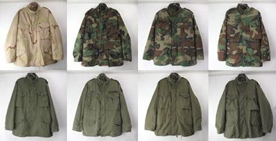 M65フィールドジャケット OD・カモ
