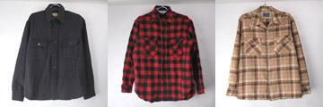 ウールシャツ、CPO