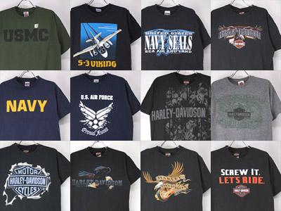 Tシャツ(新品・古着・デッドストック)
