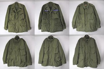 M-1950、M-65フィールドジャケット