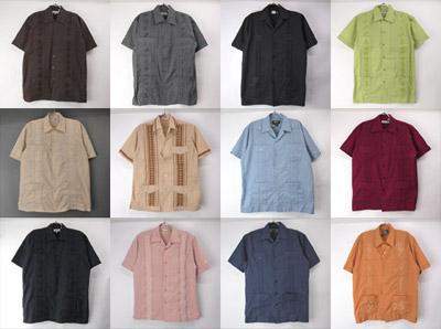 古着・新品キューバシャツ