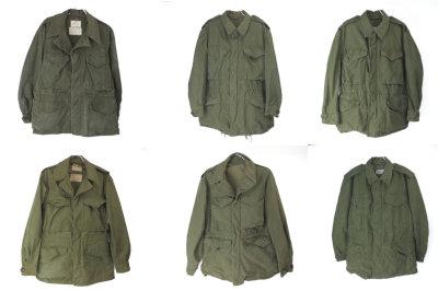 M-1943/M-1950/M-1951フィールドジャケット