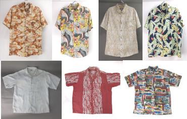 古着ハワイアンシャツ