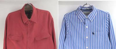 NatNast シルクシャツ、アバクロBDシャツなど