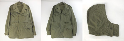 M-1943フィールドジャケット& フード