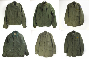 M1951フィールドジャケット、USN ナイロンデッキジャケット50s.60s.70s