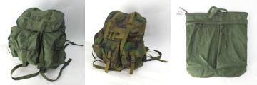 米軍アリスパック、ヘルメットバッグ