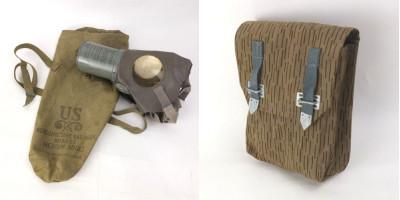 東ドイツ軍マガジンポーチ、米軍ガスマスク40's