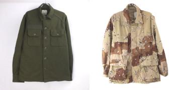 米軍ウールシャツ、6CチョコチップBDU デッドストック