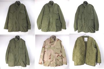 M-65フィールドジャケット 2nd.3rd.グレライ、ライナー