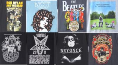 バンドイtシャツ