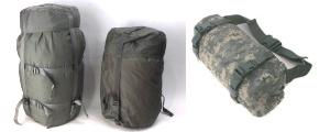 米軍ウエストバッグ、コンプレッションバッグ