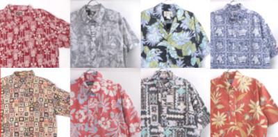 レインスプーナー 他、古着のハワイアンシャツ