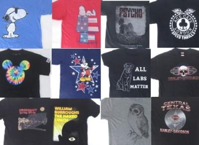 古着のレギュラーTシャツ